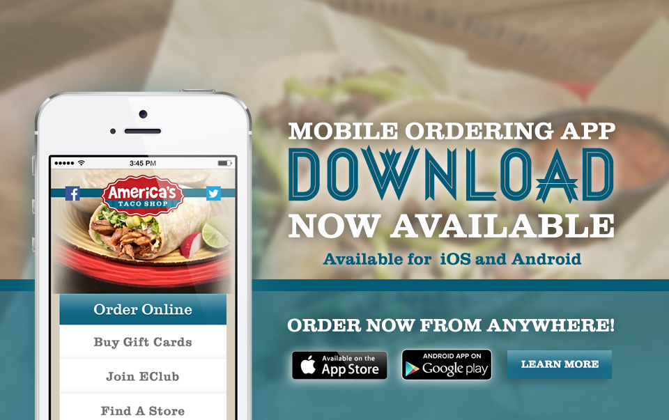 Download America's Taco Shop App
